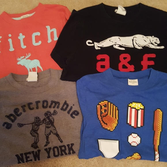 d224a63dcf3 abercrombie kids Other - 4 Abercrombie Boys short sleeve graphic tees